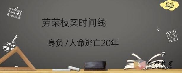 劳荣枝案时间线:身负7人命逃亡20年