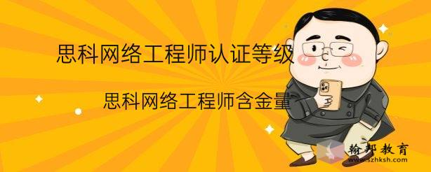 思科网络工程师认证等级(思科网络工程师含金量)